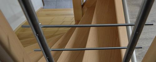 schody kombinace-dřevo